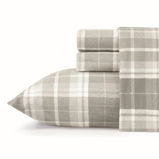 Inexpensive Mulholland Plaid Flannel Sheet Set by Laura Ashley Home ByLaura Ashley