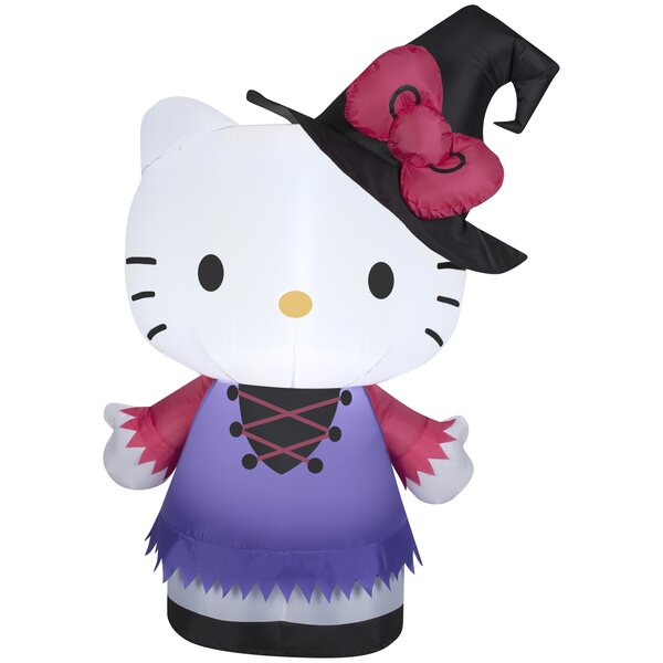 Hello Kitty as Witch SM Sanrio Inflatable by The Holiday Aisle