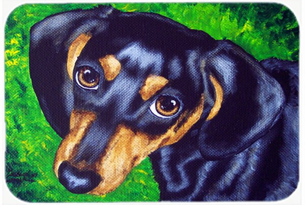 Tootsie Dachshund Kitchen/Bath Mat