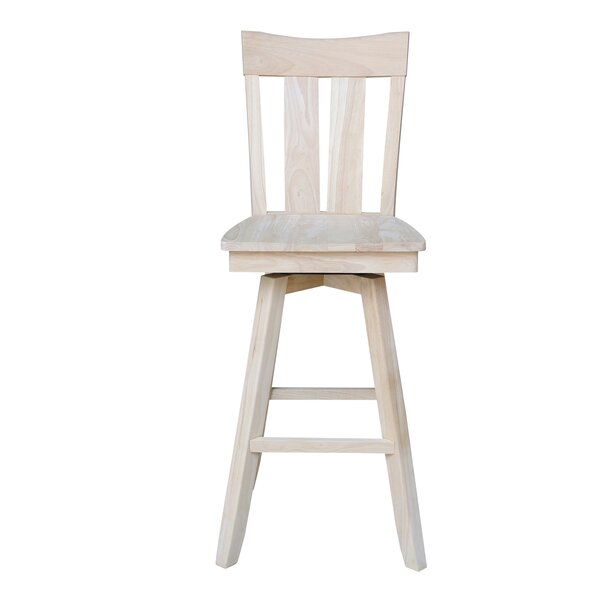 Dover 30 Swivel Bar Stool by August Grove