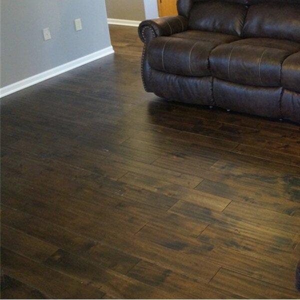 Anderson 3-3/4 Solid Acacia Hardwood Flooring in Oolong Brown by Welles Hardwood
