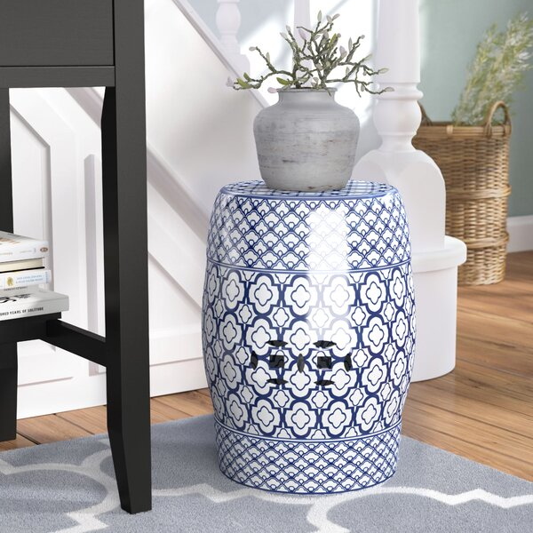 Ashtown Ceramic Garden Stool by Charlton Home
