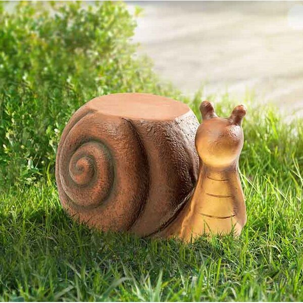 Ridgewood Snail Garden Stool by August Grove