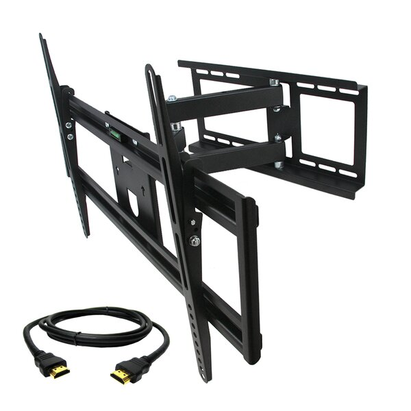 Full Motion Wall Mount for 32'' - 70'' Plasma/LCD/LED Screens by MegaMounts