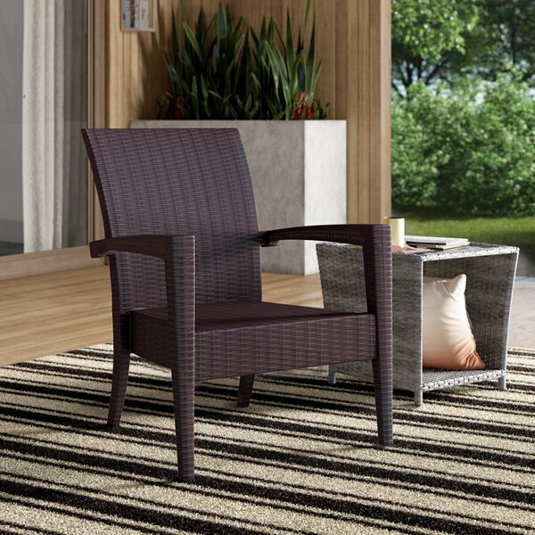 Kassiopeia Resin Patio Chair (Set of 2) by Mercury Row