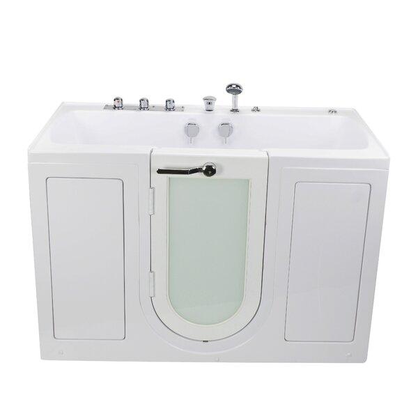 Tub4Two Hydro Massage 31.75 x 60 Walk-in Whirlpool by Ella Walk In Baths