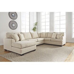 Ellery Nuvella Sectional Charlton Home Good stores for