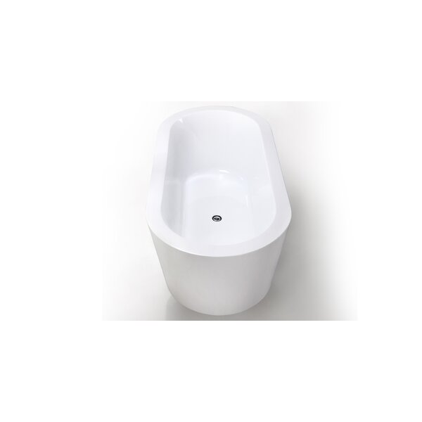 HelixBath Pella 59 x 29.5 Soaking Bathtub by Kardiel