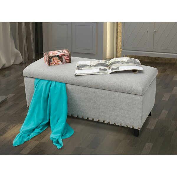 Cobham Upholstered Storage Bench by Charlton Home