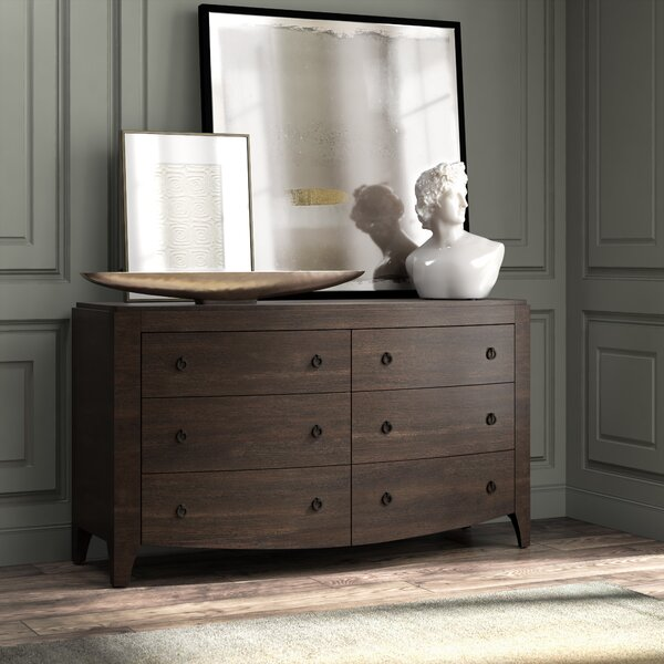 Marshallville 6 Drawer Double Dresser by Foundry Select
