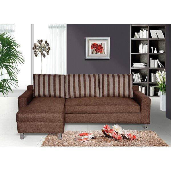 Tesch Sleeper Sectional by Ebern Designs