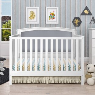 Price Check Esquina 4-in-1 Convertible Crib By Harriet Bee