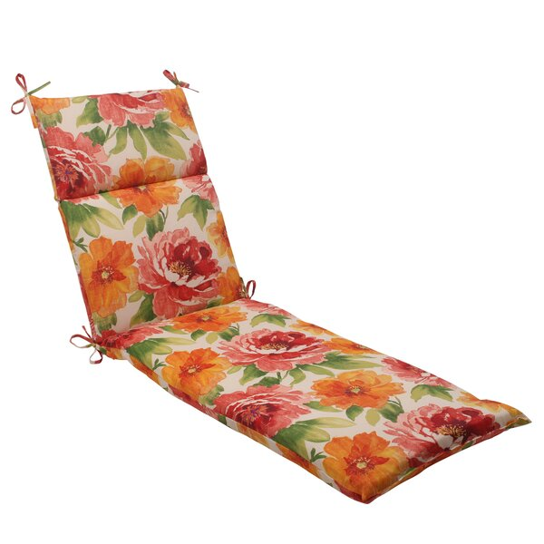 Riverport Indoor/Outdoor Chaise Lounge Cushion by Darby Home Co