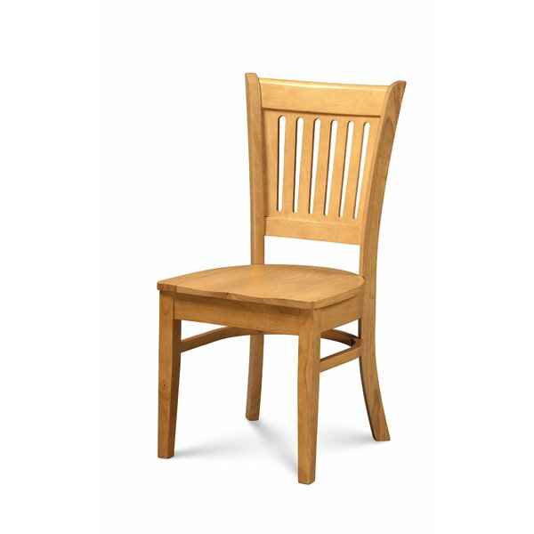 Miriam Solid Wood Dining Chair (Set of 2) by Breakwater Bay