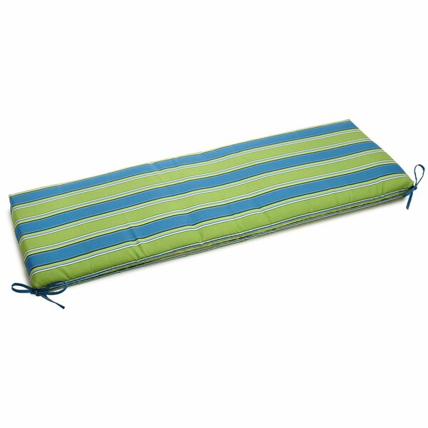 Passion Indoor/Outdoor Bench Cushion by Blazing Needles