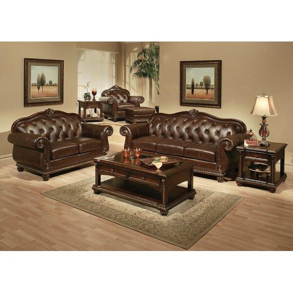 Fleur De Lis Living Leather Furniture Sale
