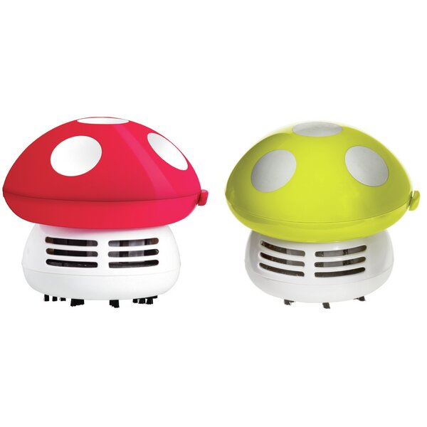 Mushroom Handheld Vacuum (Set of 2) by Imperial Home