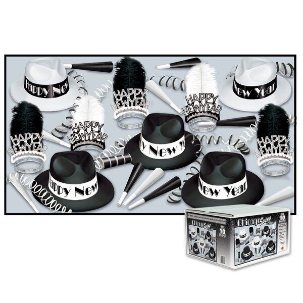 Chicago Swing Party Hat Set by The Holiday Aisle