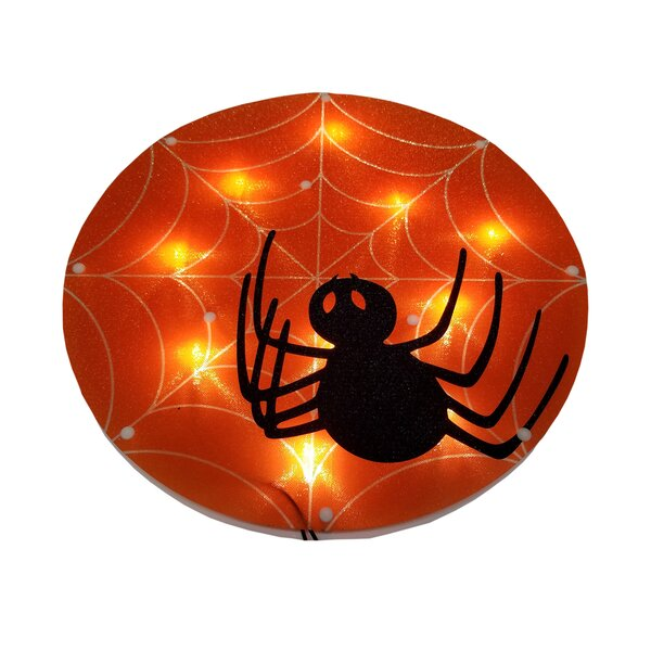 Spider on Web Glazed 10 Light Lighting Accessory by The Holiday Aisle