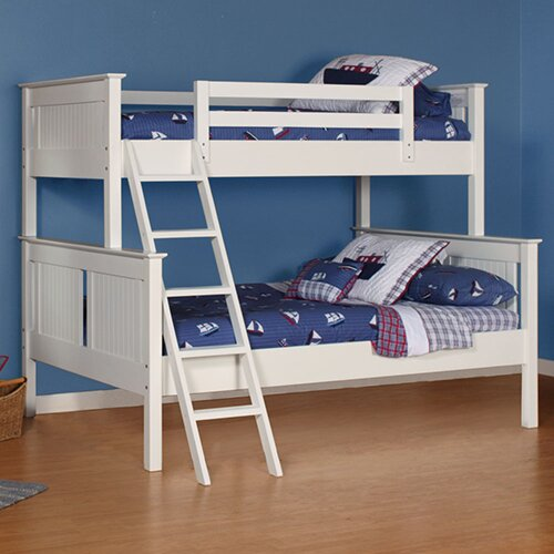 Edick Twin Over Full Bunk Bed with Ladder and Trundle by Harriet Bee