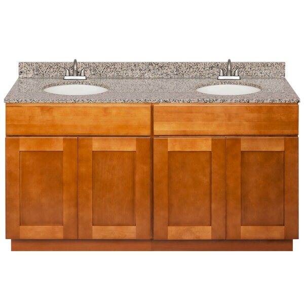 Strawser 60 Double Bathroom Vanity Set by Winston Porter