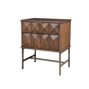 Find the perfect Mccaskill 2 Drawer Nightstand ByMercury Row