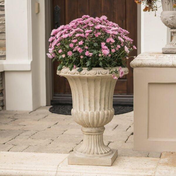 Tenth Avenue Polystone Urn Planter by Fleur De Lis Living