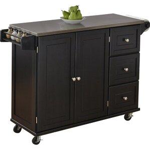 Stainless Steel Kitchen Islands U0026 Carts Youu0027ll Love | Wayfair