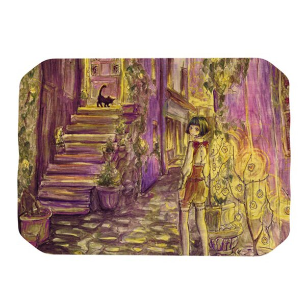 Down The Alleyway Placemat by KESS InHouse
