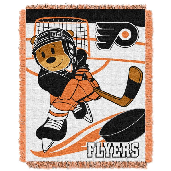 NHL Flyers Baby Woven Throw Blanket by Northwest Co.
