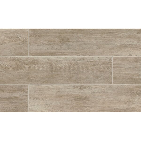Santa Monica 8 x 36 Porcelain Wood Tile in Pico by Grayson Martin