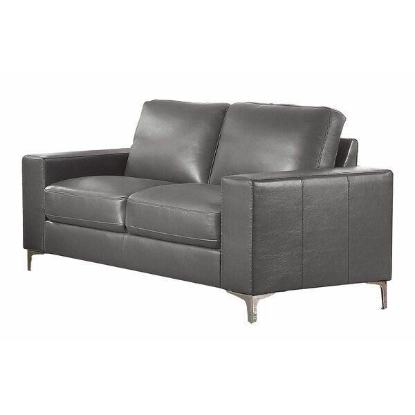 Melra Contemporary Cushioned Loveseat by Orren Ellis