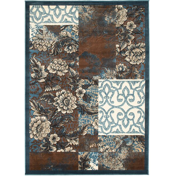 Alicia Floral Area Rug by Red Barrel Studio