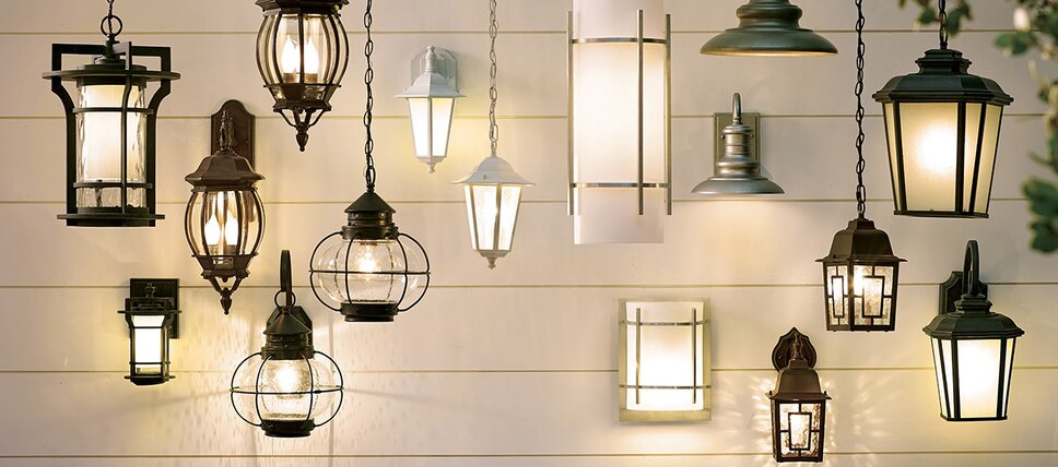 exterior house lanterns outdoor lighting youll love