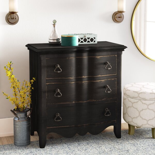 Bartow 3 Drawer Bachelor Chest by Three Posts