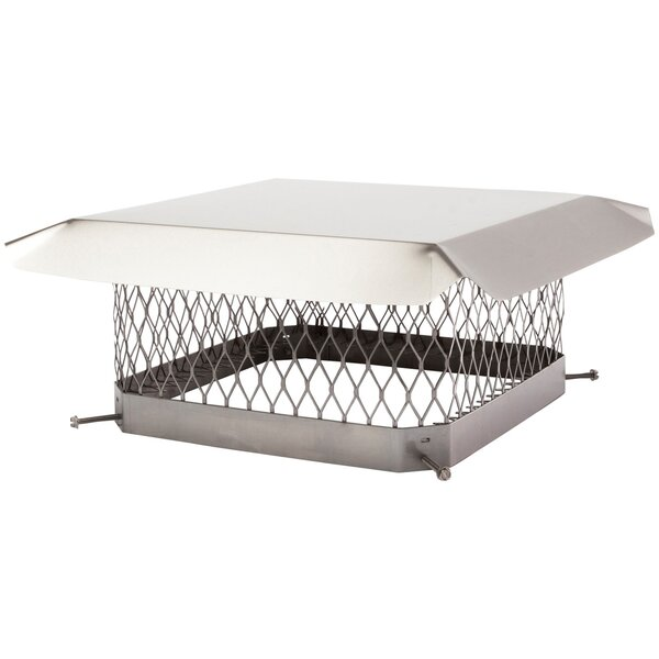 Single-Flue Stainless Steel Chimney Cap by Shelter