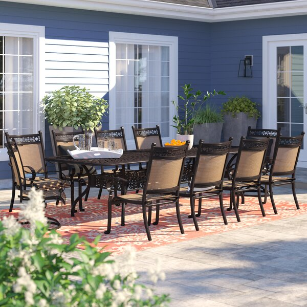 Curacao 11 Piece Dining Set by Sol 72 Outdoor