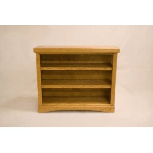 Curlee 2 Shelf Traditional Standard Bookcase