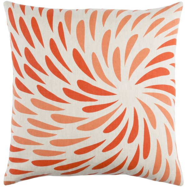 Flying Colors Eye of the Storm Throw Pillow by emma at home by Emma Gardner