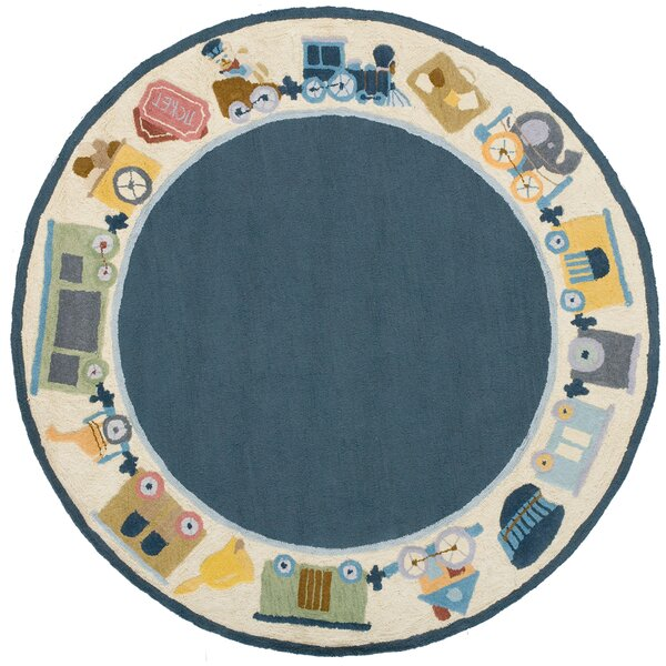 Kiki Blue Kids Rug by Viv + Rae