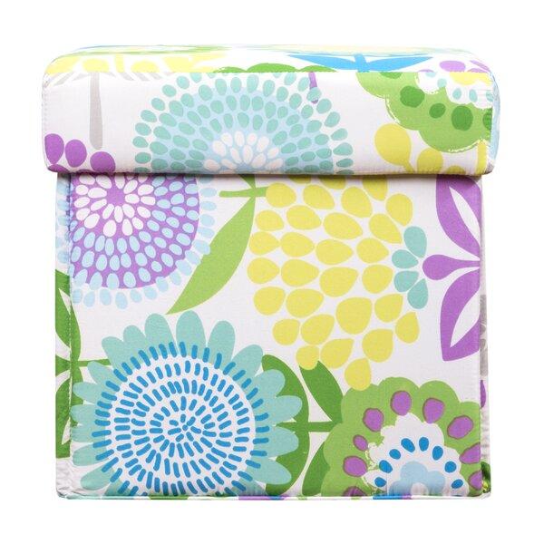 Pointillist Pansy Storage Ottoman by Crayola LLC