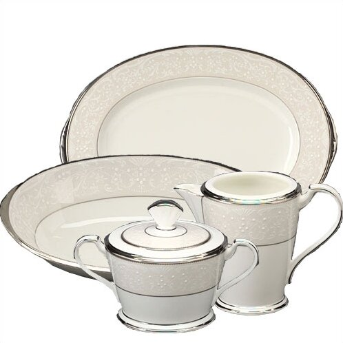 Silver Palace 5 Piece Completer Set by Noritake