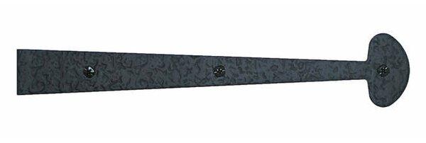 1.38 H × 12 W Surface Mount Single Door Hinge by Acorn