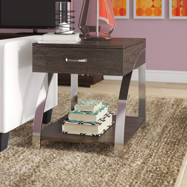 Troxler End Table by Wade Logan