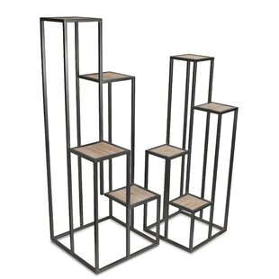 Where buy  Sundown 2 Piece Multi-Tiered Plant Stand Set By Ivy Bronx