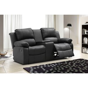 Chaffins Reclining Loveseat with Center Console and Storage