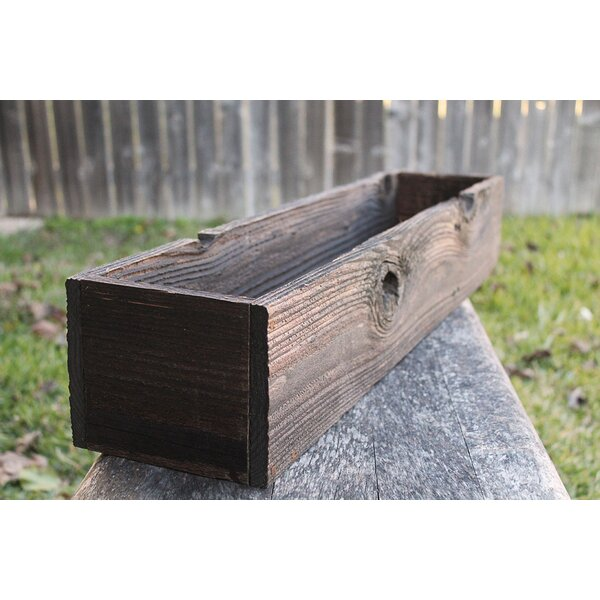 Leif Wood Planter Box by Loon Peak