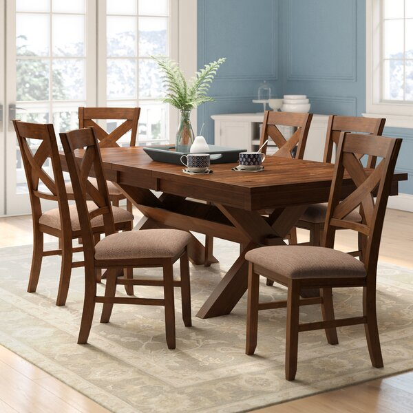 Warsaw 7 Piece Dining Set by Alcott Hill Alcott Hill