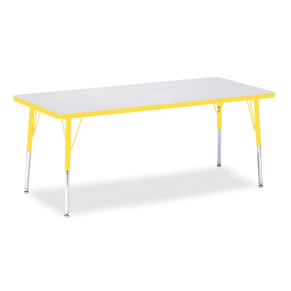 Berries® 72 x 30 Rectangular Activity Table by Jonti-Craft