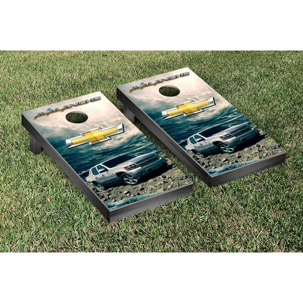 Chevy Avalanche Cornhole Game Set by Victory Tailgate